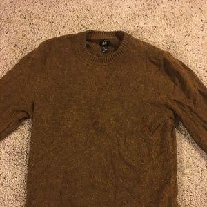 H&M Brown Wool Sweater
